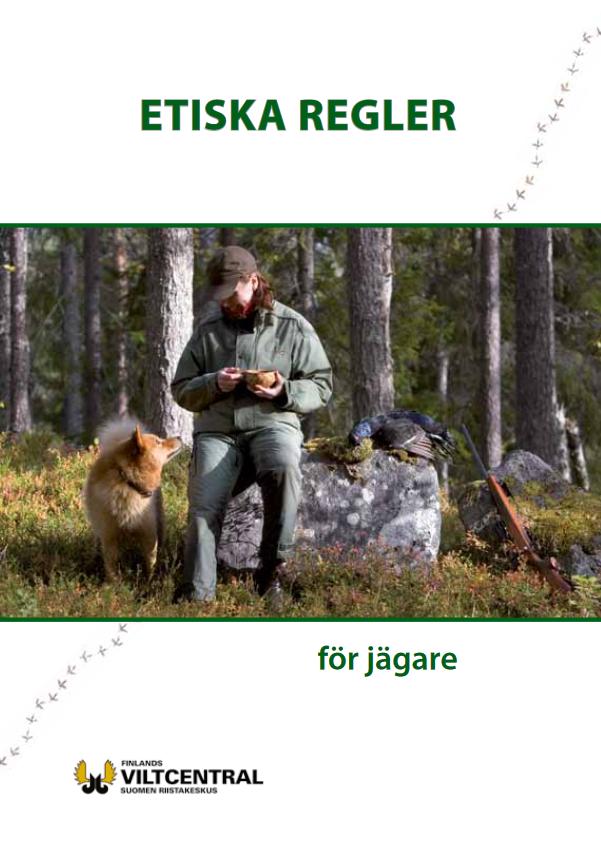 Etiska regler för jägare broschyr