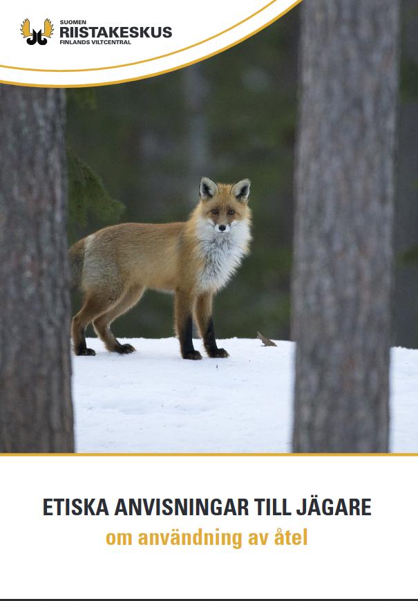 Etiska anvisningar till jägare om användning av åtel broschyr