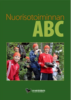 Nuorisotoiminnan ABC-oppaan kansisivu.